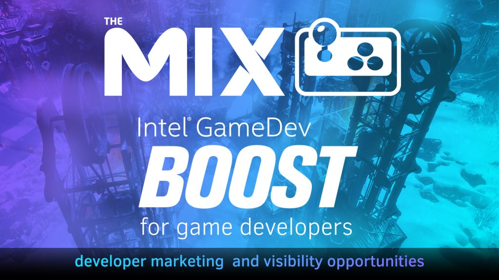How did Intel's GameDev Boost program help promote Frostpunk, Dreamscaper and Last Year?