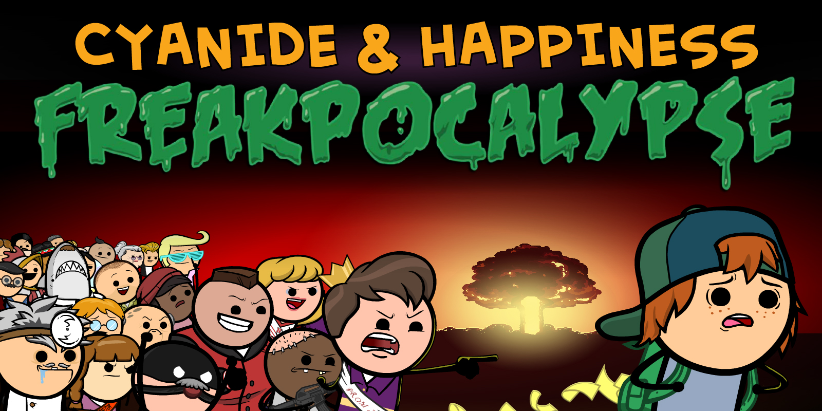 Cyanide & Happiness – Freakpocalypse: Part 1