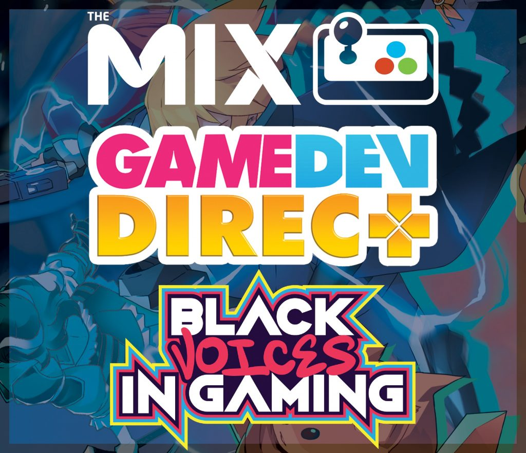 First 2021 MIX digital events: Black developer spotlights for Black History Month,  March Game Dev Direct event and more!