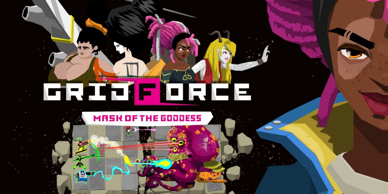 Grid Force – Mask Of The Goddess